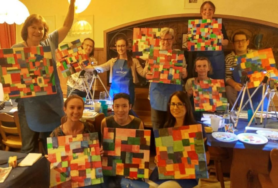 "ArtNight am 24. Juli 2017 ""Paint like Paul Klee"""
